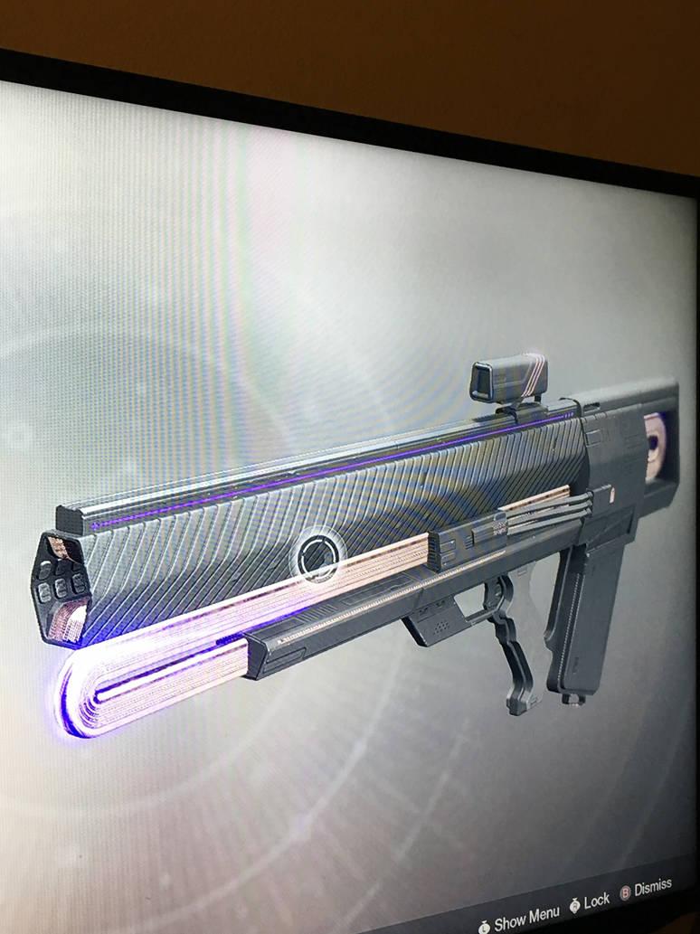 Destiny 2 exotic pulse rifle graviton lance by pugwash1 on