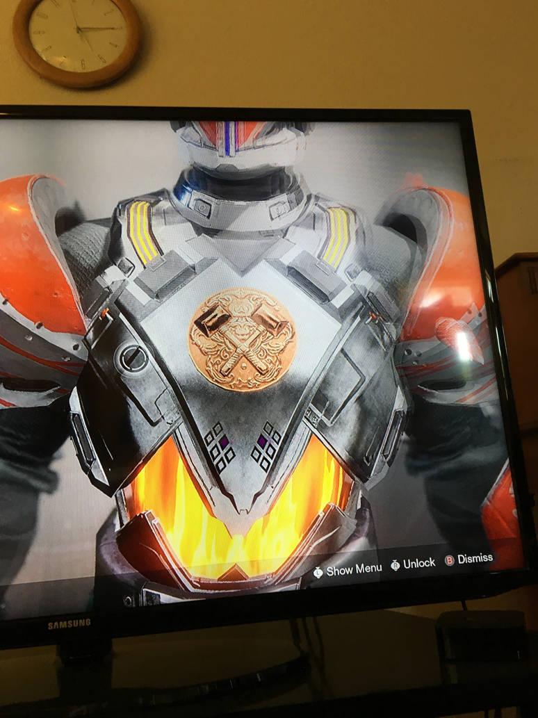 Destiny 2 Titan exotic chest hallowfire heart by pugwash1 on