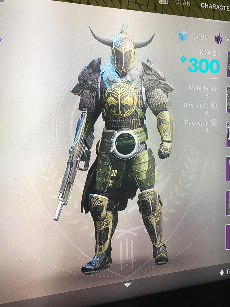 Destiny 2 ib iron truage armor by pugwash1