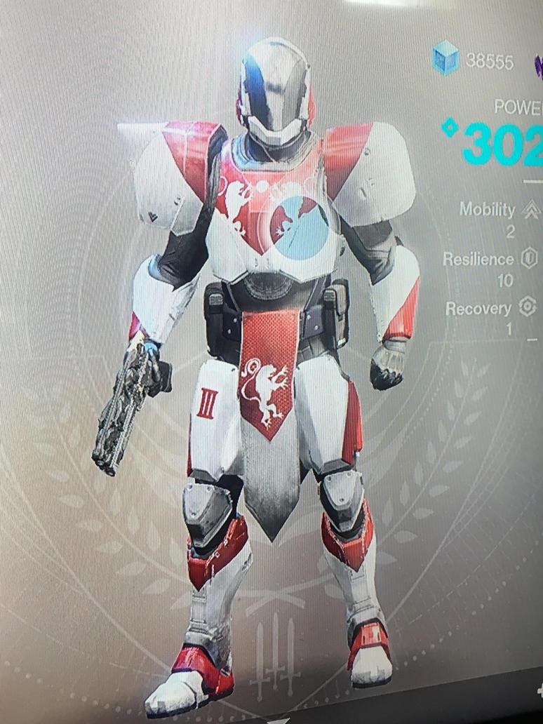 Destiny 2 Titan Armor Noble Constant Type By Pugwash1