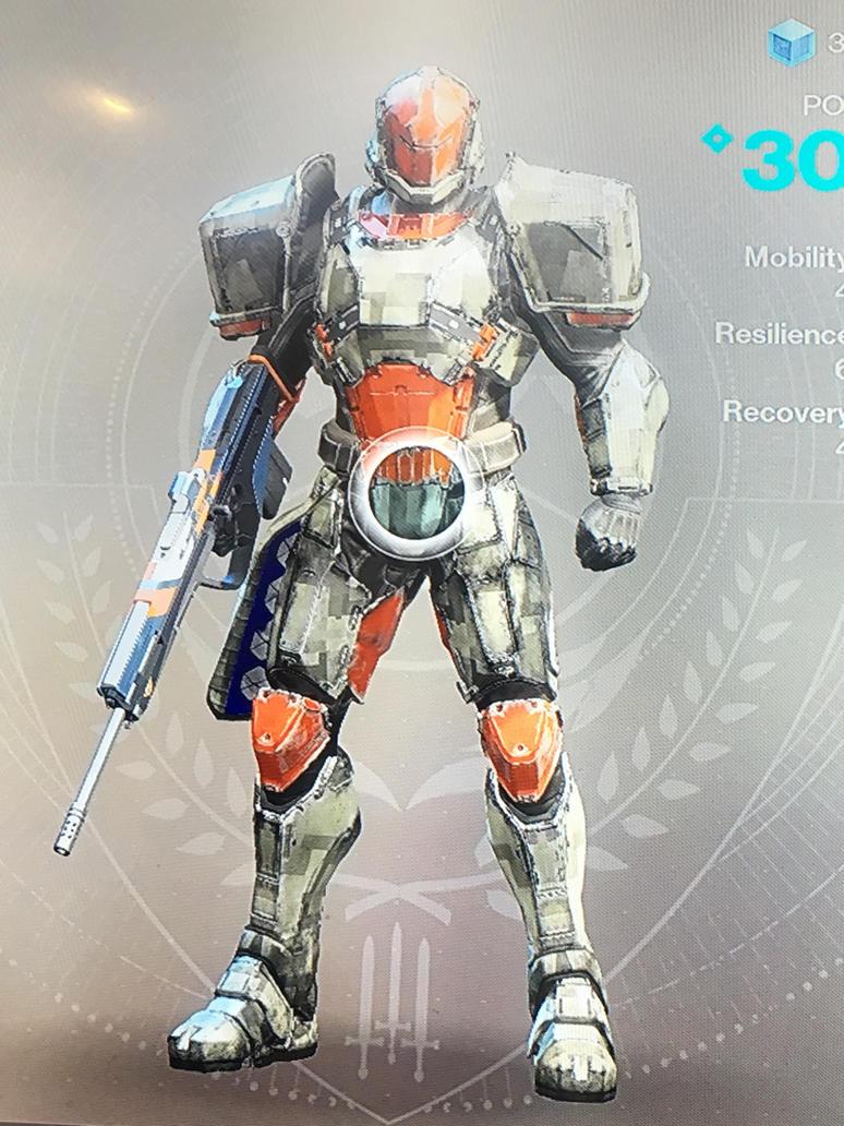 Destiny 2 Titan Armor Retro Grade Tg By Pugwash1