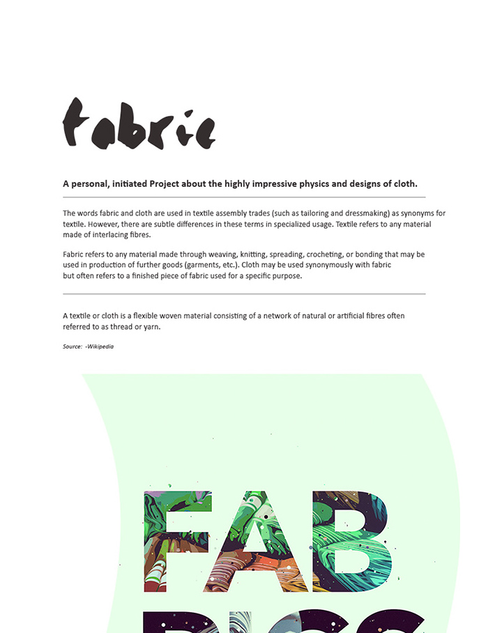 Fabrics.01 by TheUnknownBeing