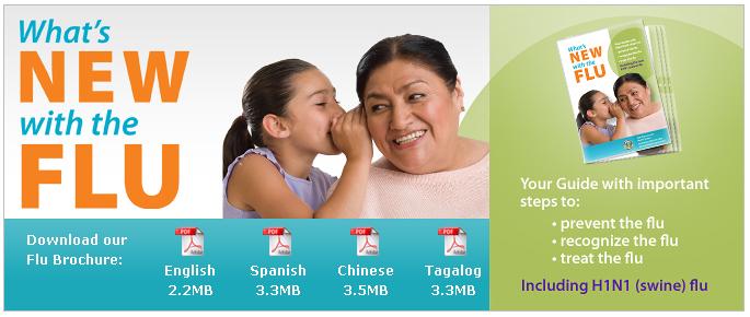 Flu Brochure download area by montia
