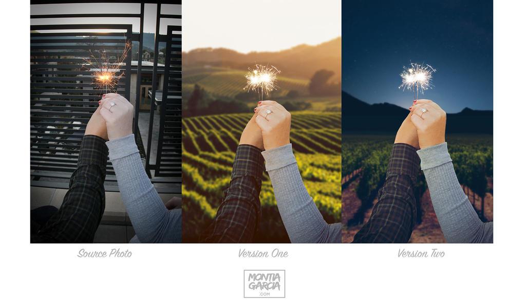 Photoshop Photo Retouching for Engagement Photo