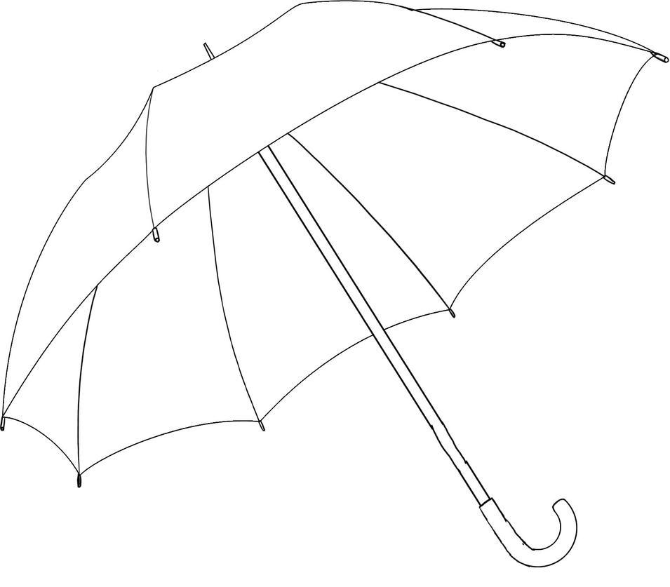 Line Art Umbrella : Umbrella by ollinatl on deviantart