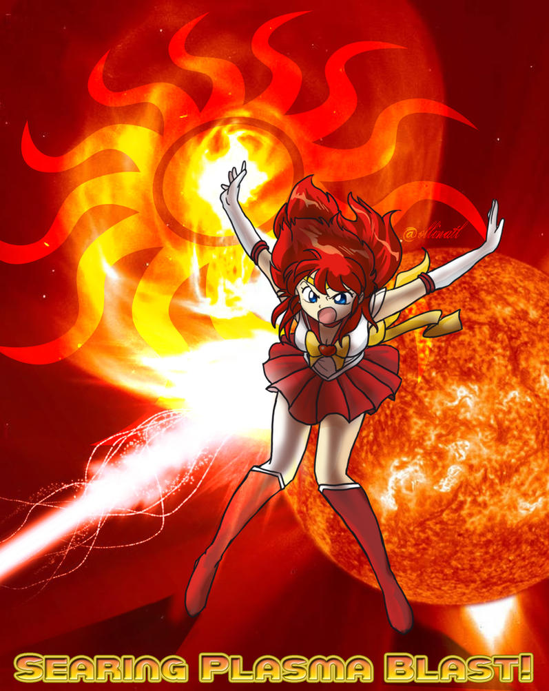 Searing Plasma Blast! by Ollinatl