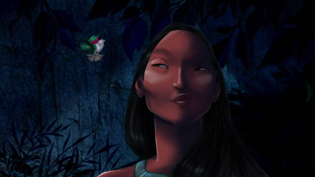 Disney Screencap re-shade - Pocahontas