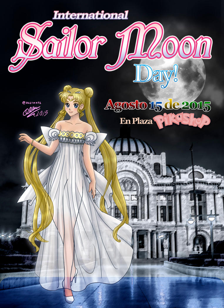 International Sailor Moon Day Mexico by Ollinatl