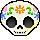 Sugar Skull by Ollinatl