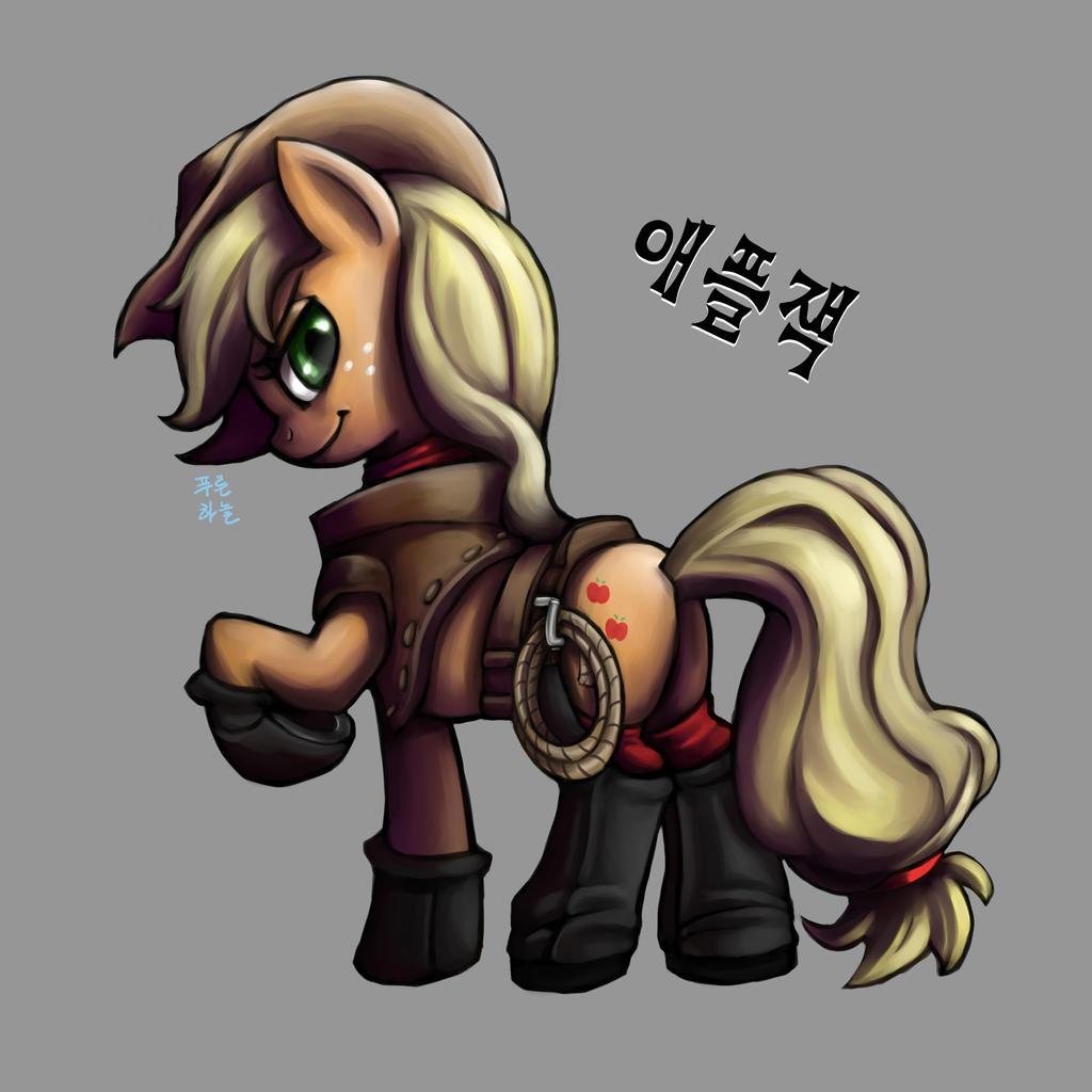 Cowgirl AppleJack