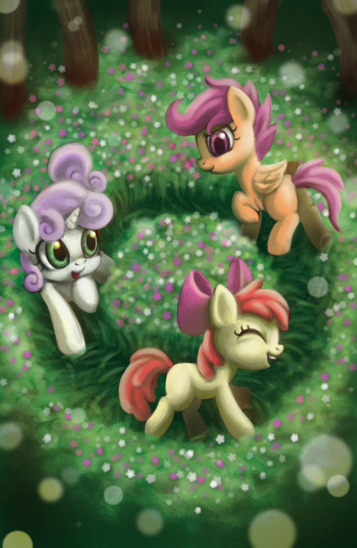 Trample flowers cutie mark! by mrs1989