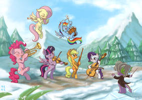 Winter Wrap Up with Classic Music by mrs1989