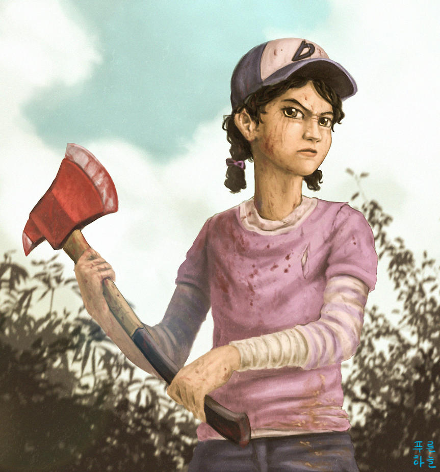 The Walking Dead Game : Clementine By Mrs1989 On DeviantArt