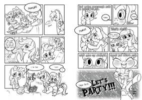 MLP fan comic PARTY!! #12 translated ver.