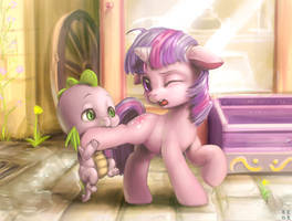 Don't Spike, Don't! by mrs1989