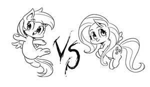 Doodles : Pegasus fight!