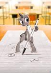 Ballpoint Pony
