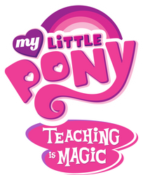 My Little Pony Teaching is Magic logo