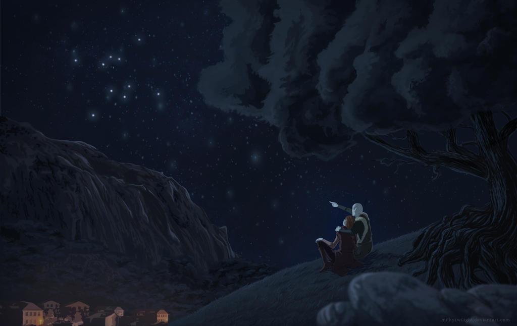 Stargazing by milkytwilight