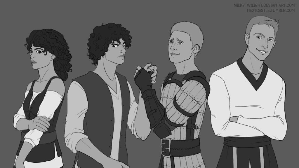 Dragon Age Commission by milkytwilight