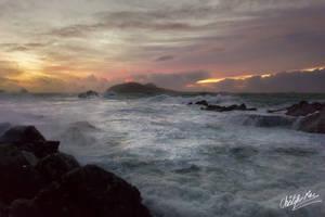 Romance the waves