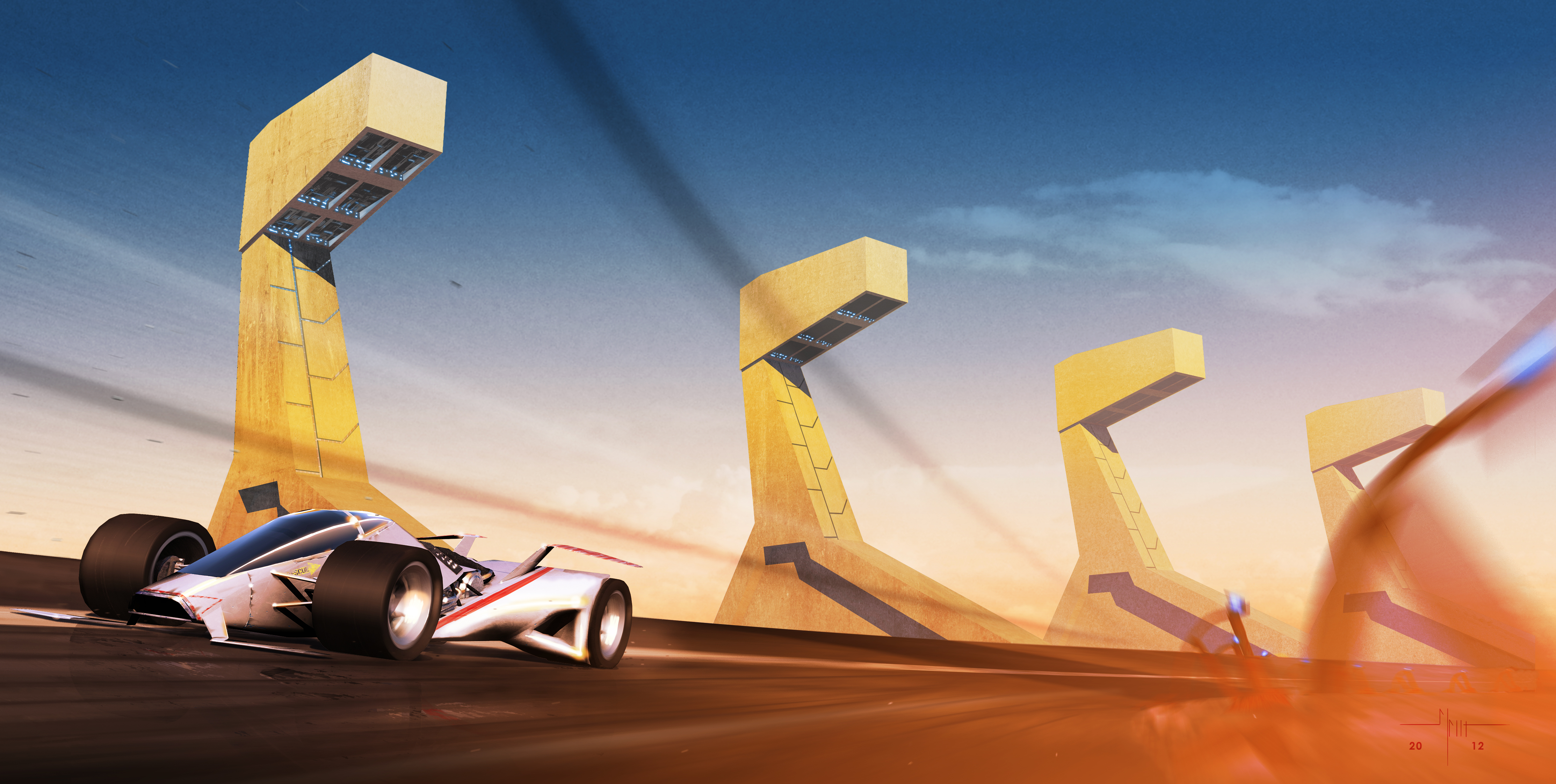 Race Track Day by qwertyDesign