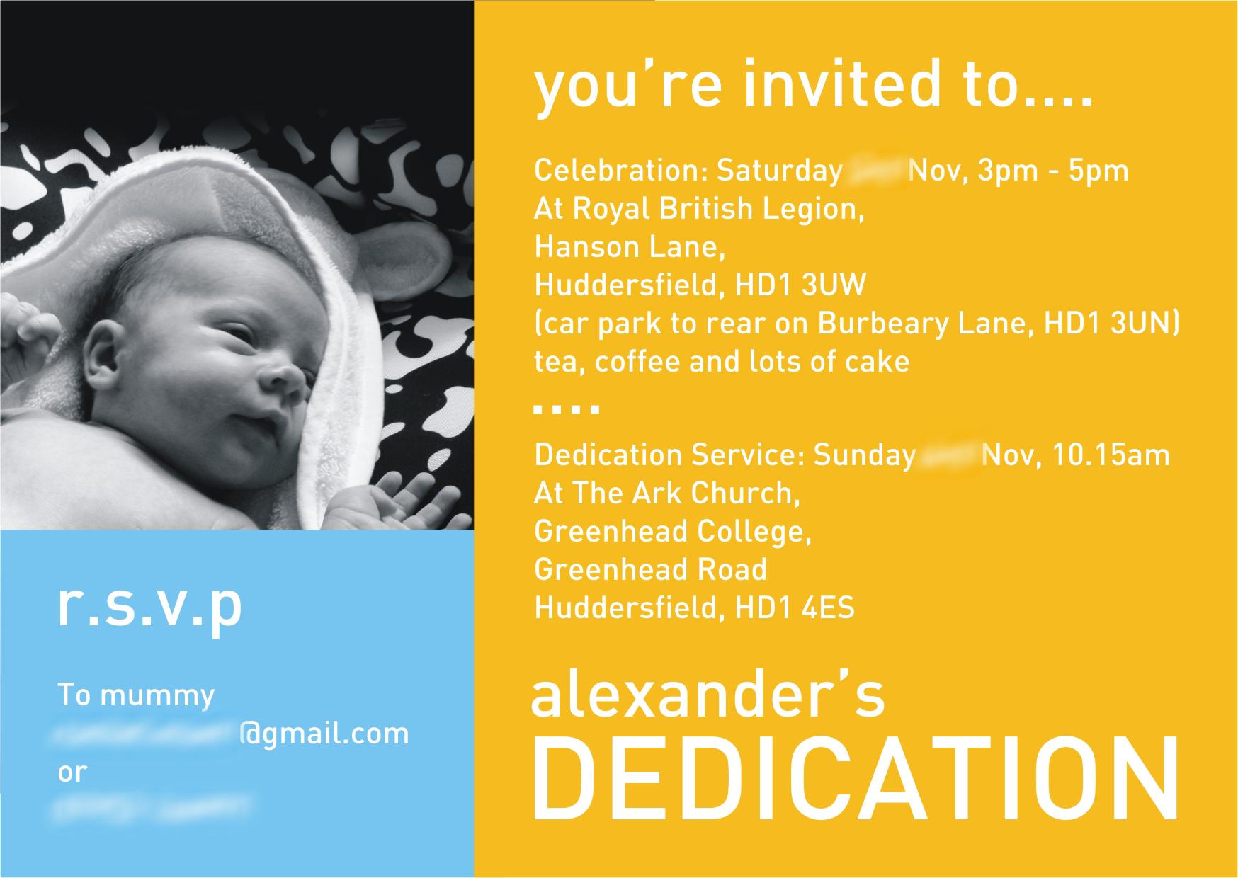 Invitation Of Life for awesome invitation design