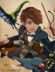 Fantastic Beast and where to Find Them by liyunmel