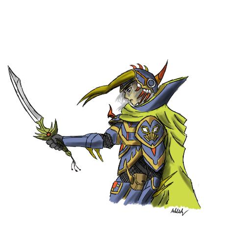 Warrior of Light by supereva01