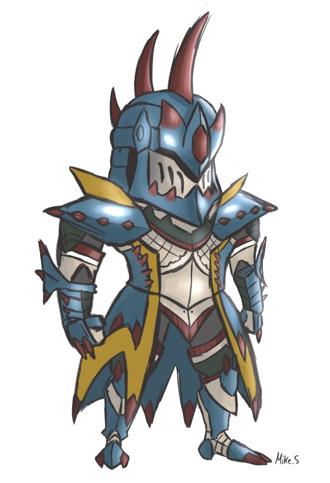Chibi Lagiacrus Armor By Supereva01 On Deviantart
