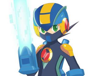 Megaman EXE by supereva01