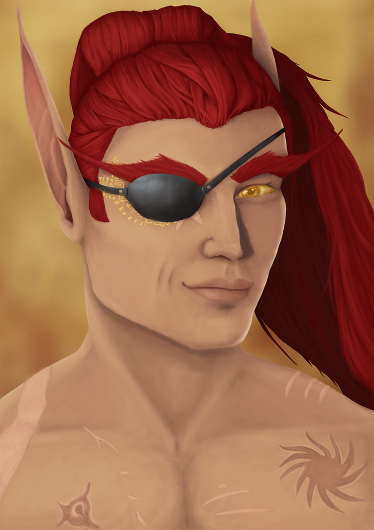 Captain Del'thos Dawnbreak by Secret-Valkyrie