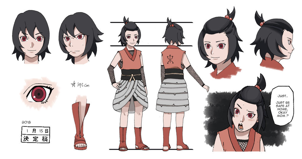 Mirai Sarutobi Academy Outfit Colors Ver By Rolliandy On Deviantart 1,892 likes · 4 talking about this. mirai sarutobi academy outfit colors