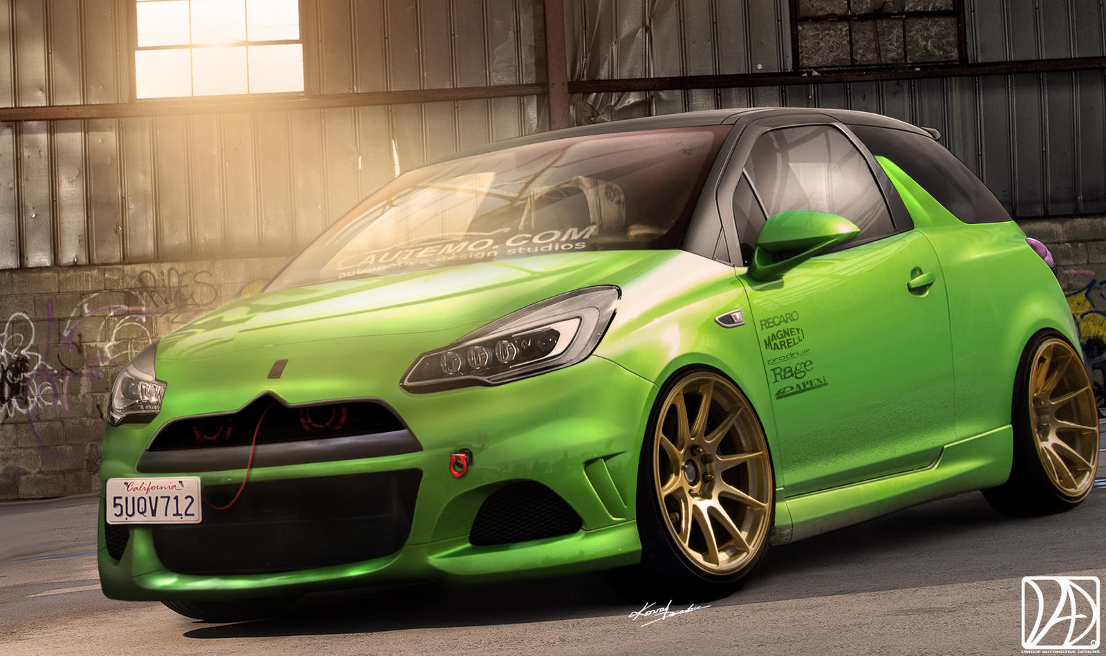citroen ds3 virtual tuning by uad team on deviantart
