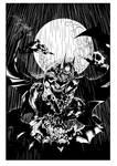 Batman In Rain By Ardian Syaf-inking