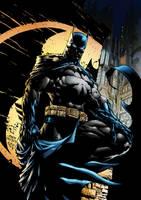 Batman Color by royhobbitz