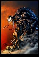 Venom Inks By Devgear-Colored by royhobbitz