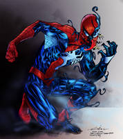 Venomized By Spiderguile-Colored by royhobbitz