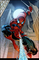 Spider Man Cover 7 By Timtownsend-Colored by royhobbitz
