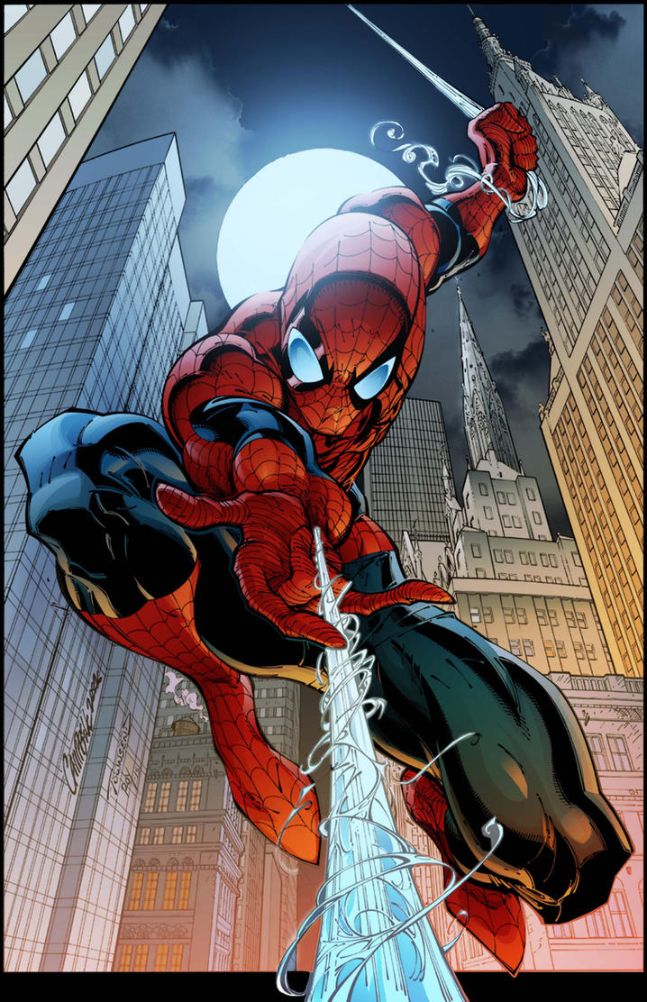 Spider Man Cover 7 By Timtownsend-Colored by royhobbitz on ...