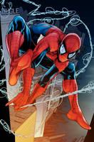 Spider Man By DexterVines Colored by royhobbitz
