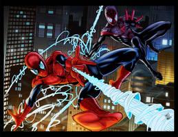 Homem Aranha By Antonioagustinho-Colored by royhobbitz