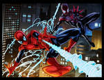 Homem Aranha By Antonioagustinho-Colored