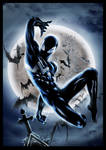 Symbiote Spider-man Re-Colored