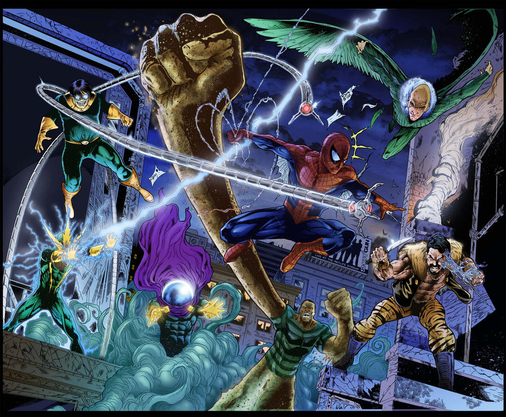 Spiderman By Dymartgd-Colored by royhobbitz
