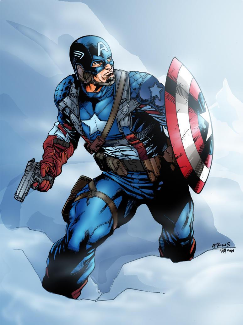 Movie Ww2 Captain America Sotd By Ratkins-Colored by royhobbitz