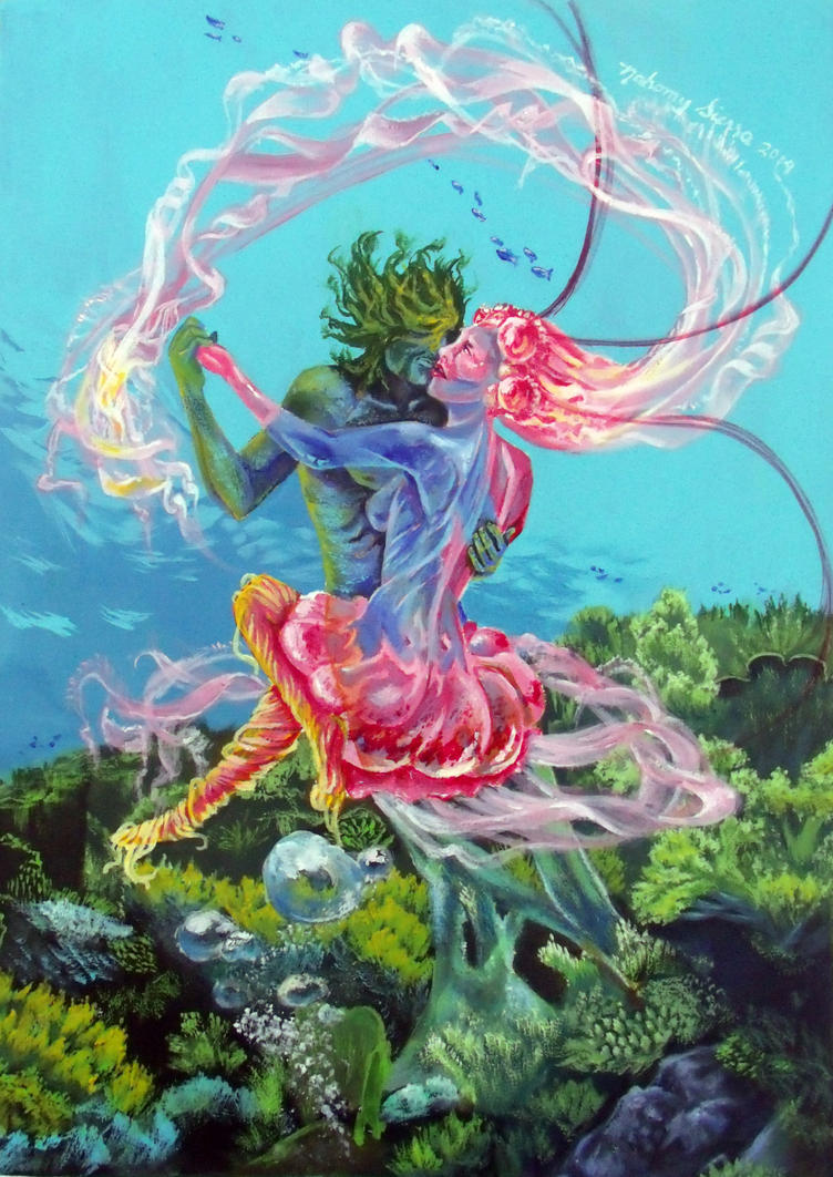 Underwater Waltz by NuttyNamy