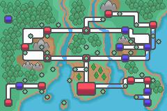 Unova Region Map Remake by malice936