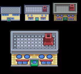 Pokemon Prof. Oaks Lab by malice936