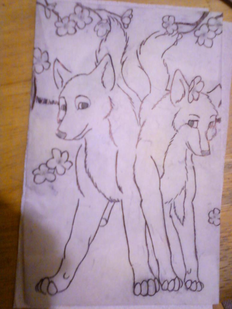 Wolves by JenniferBee